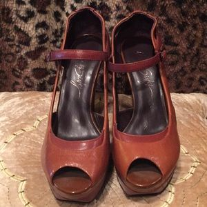 Miss sixty, New, medium brown color, 7.5